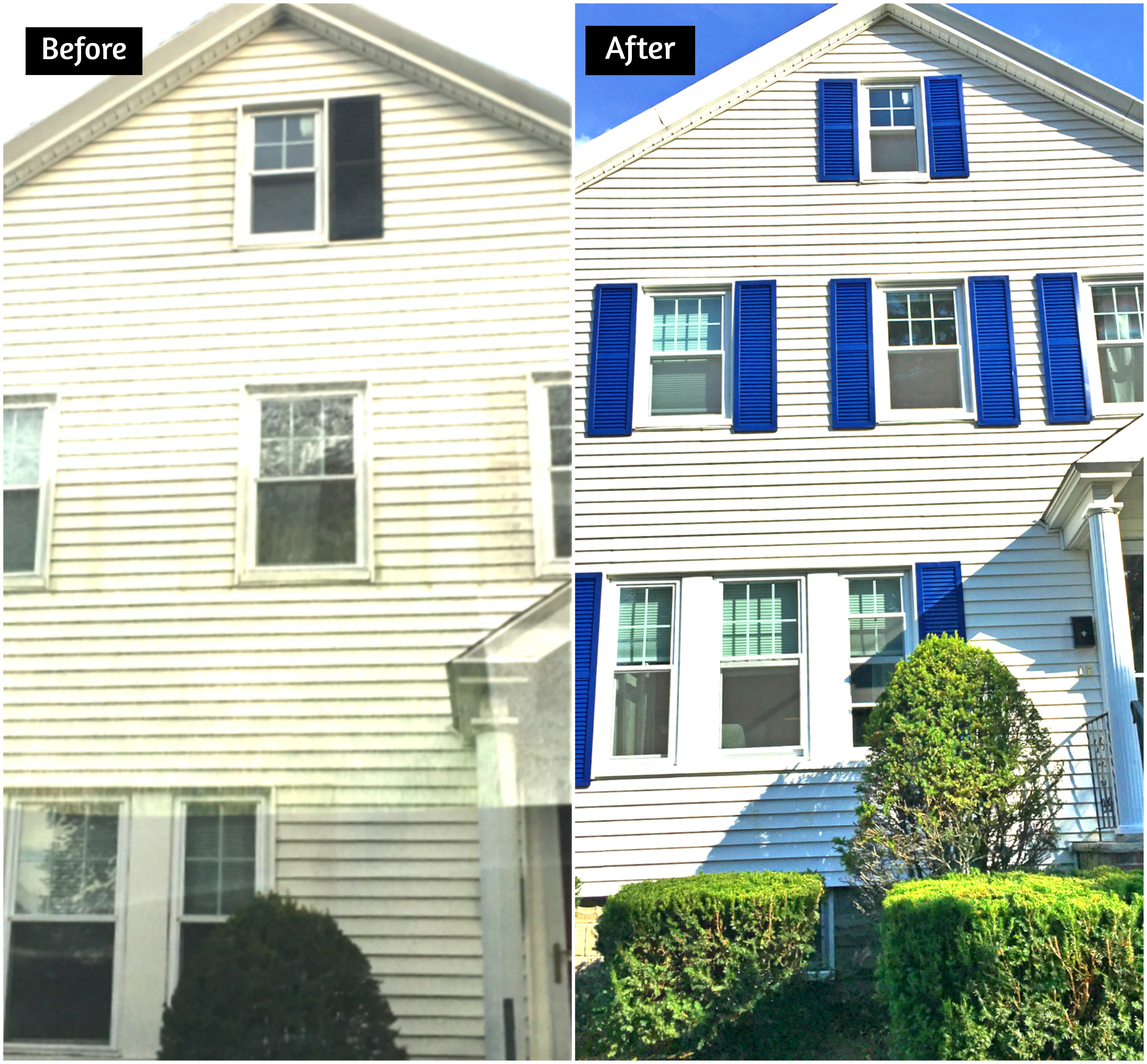 Before After Exterior