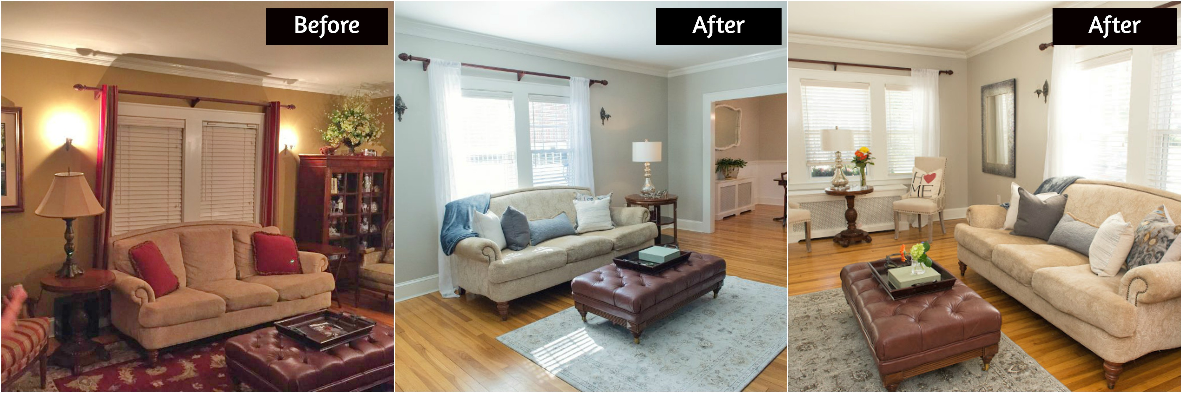 before and after living rooms before after living room kristyb 18143